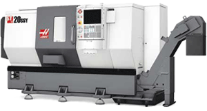 HAAS ST20SSY – CNC Drehmaschine (Y-Axis & Live Tooling lathe)